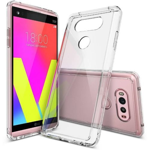 LG V20 Transparent Soft Back Cover Case 1