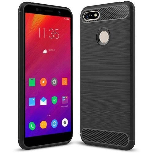 Lenovo A5 Hybrid Soft Black Cover 1