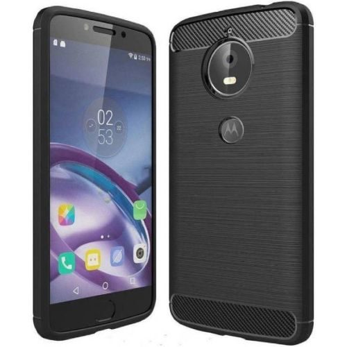 Motorola Moto G5S Plus Hybrid Soft Black Cover 1