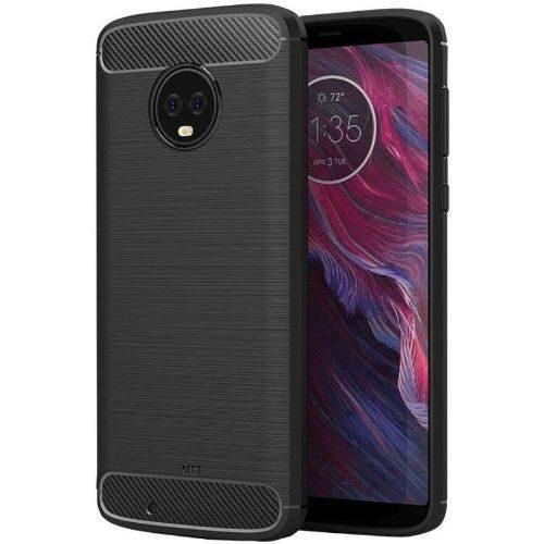 Motorola Moto G6 Hybrid Soft Black Cover OG 1
