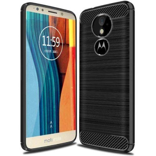 Motorola Moto G6 Hybrid Soft Black Cover 1