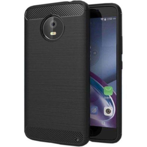 Motorola Moto X4 Hybrid Soft Black Case 1