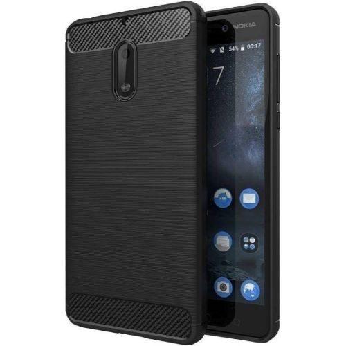 Nokia 6 Hybrid Soft Black Cover 1