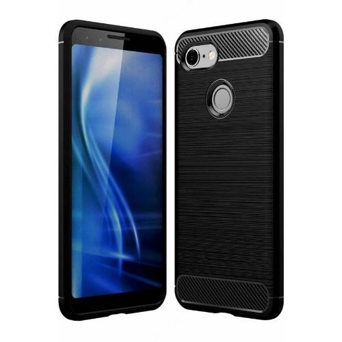 Huawei Nova 3i Hybrid Soft Black Cover 1