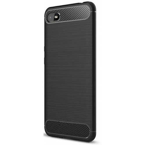 Oppo A1k Back Cover Black Color Hybrid 1