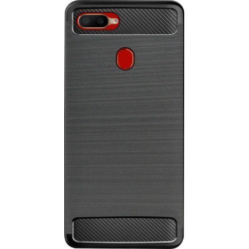 Oppo A5s Back Cover Case Black Color Hybrid 1