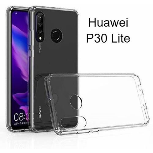 Huawei P30 Lite Transparent Back Cover Case 1