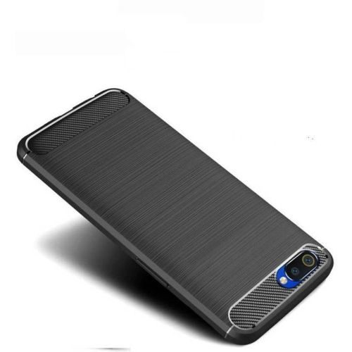 Realme C2 Back Cover Case Black Color Hybrid 1