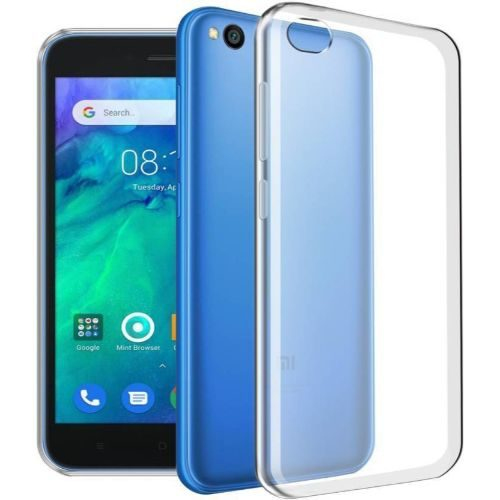 Xiaomi Redmi GO Transparent Back Cover Case 1
