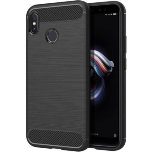 Redmi Note 5 Pro Hybrid Soft Black Cover Case 1