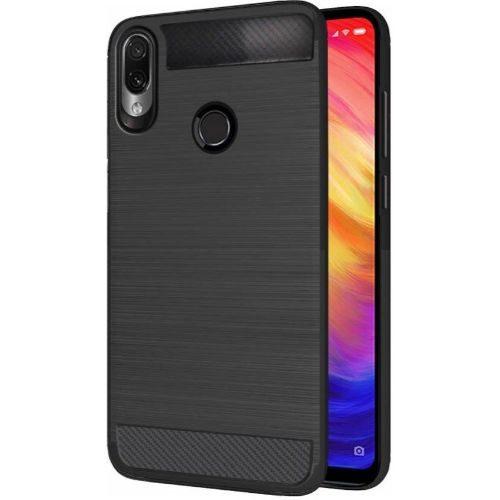 Redmi Note 7 Back Cover Case Black Colour Hybrid 1