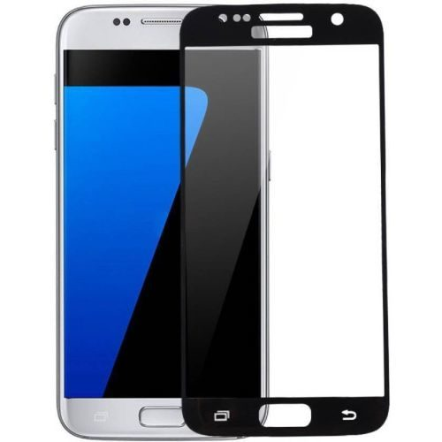 Samsung Galaxy S7 Tempered Glass Full Glue 6D Black Color 1