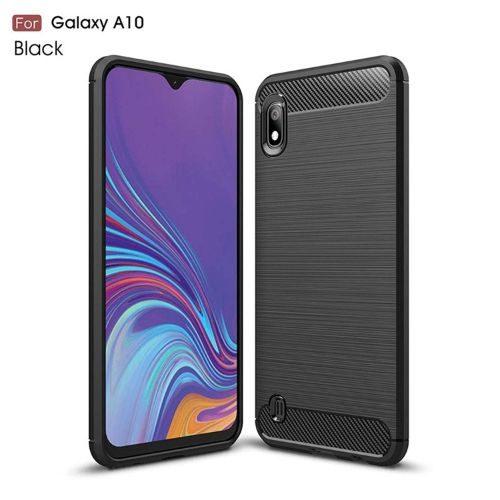 Samsung Galaxy A10 Back Cover Case Black Colour Hybrid 1
