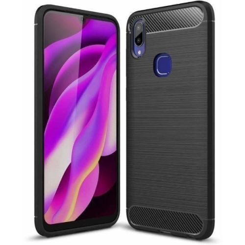 Samsung Galaxy A30 Back Cover Case Black Color Hybrid 1