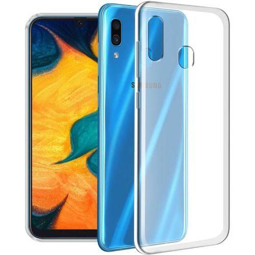 Samsung Galaxy A30 Transparent Back Cover Case 1