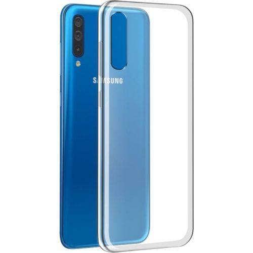 Samsung Galaxy A50 Transparent Soft Back Cover Case 1