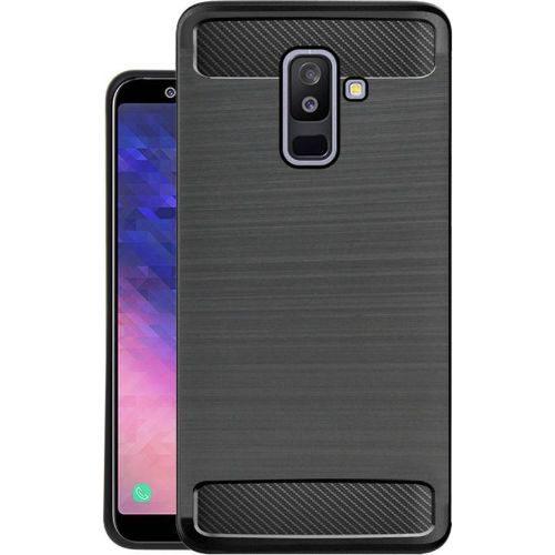 Samsung Galaxy A6 ewe Hybrid Soft Black Cover 1