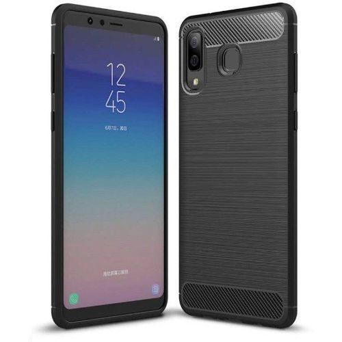 Samsung Galaxy A8 Star Hybrid Soft Black Cover OG 1