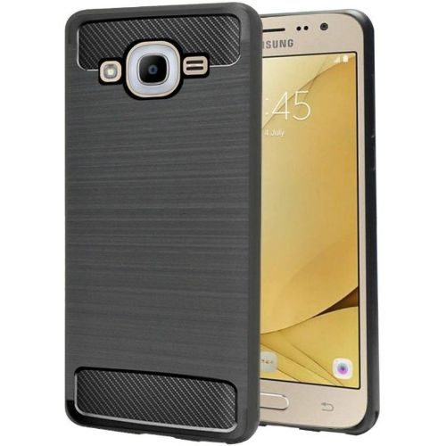 Samsung Galaxy J2 2016 Hybrid Soft Black Cover Case 1