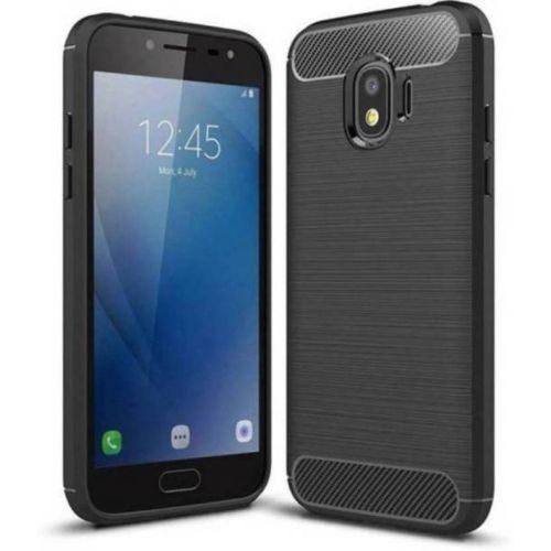 Samsung Galaxy J4 Hybrid Soft Black Cover 1