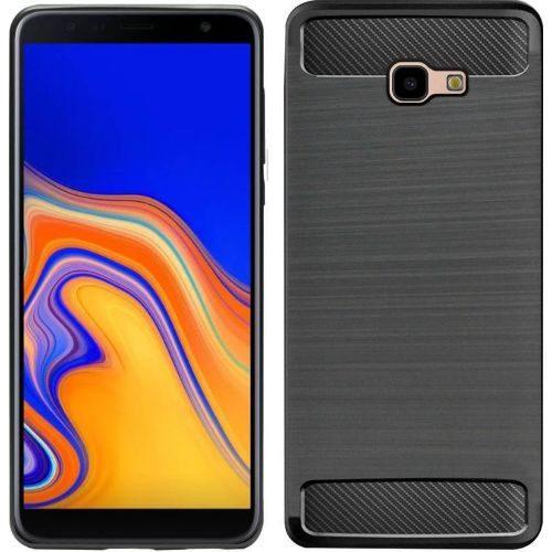Samsung Galaxy J4 Plus Hybrid Soft Black Cover 1