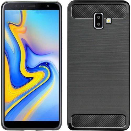 Samsung Galaxy J6 Plus Hybrid Soft Black Cover 1