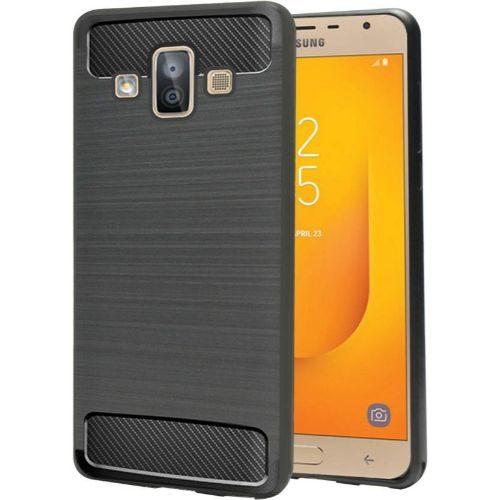 Samsung Galaxy J7 Duo Hybrid Soft Black Cover 1