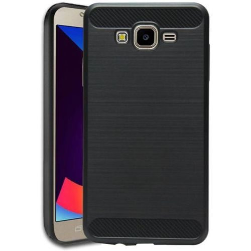 Samsung Galaxy J7 Nxt Hybrid Soft Black Cover 1