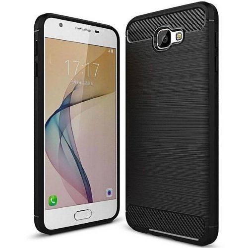 Samsung Galaxy J7 Prime Hybrid Soft Black Cover 1