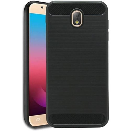 Samsung Galaxy J7 Pro Hybrid Soft Black Cover 1