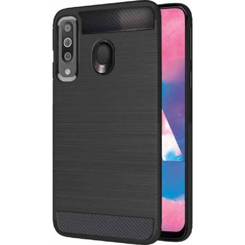 Samsung Galaxy M30 Back Cover Case Black Colour Hybrid 1