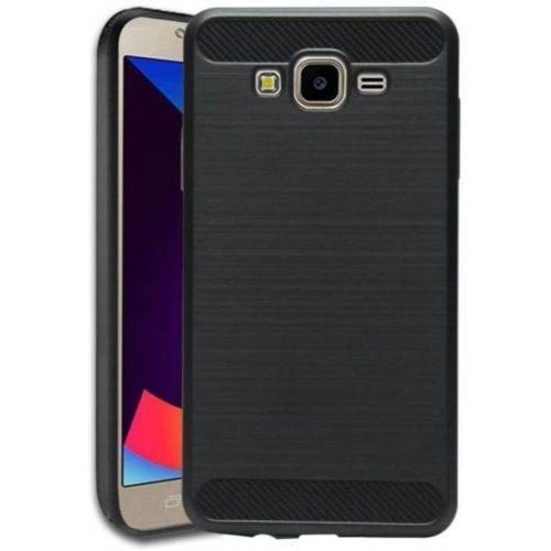 Samsung Galaxy J7 2016 Hybrid Soft Black Cover Case 1