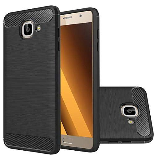 Samsung Galaxy J7 Max Hybrid Soft Black Cover 1