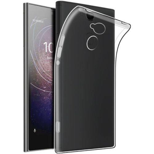 Sony Xperia L2 Transparent Soft Back Cover Case 1