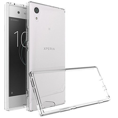 Sony Xperia XA1 Ultra Dual Transparent Soft Back Cover Case 1