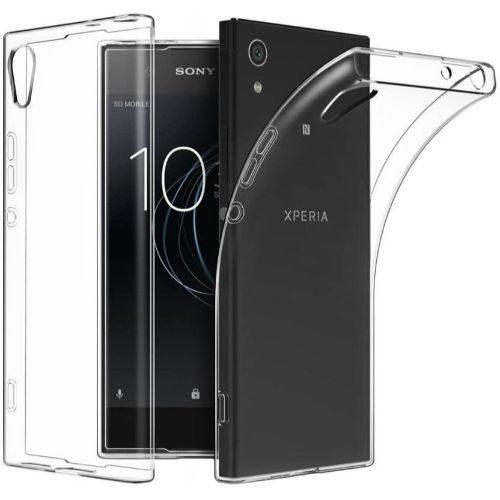 Sony Xperia XA1 Ultra Transparent Soft Back Cover Case 1
