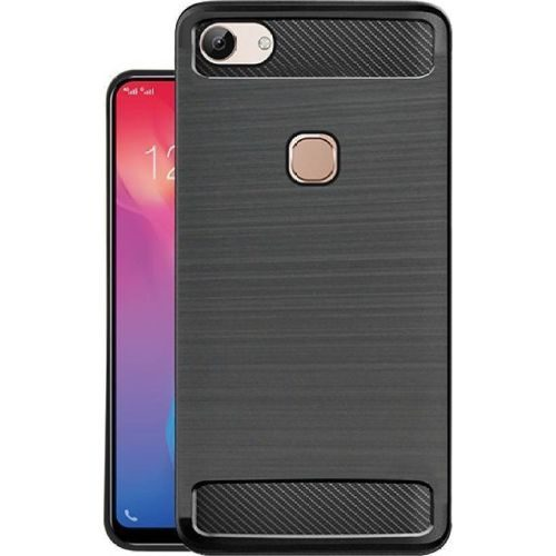 Vivo Y83 Back Cover Case Black Color Hybrid 1