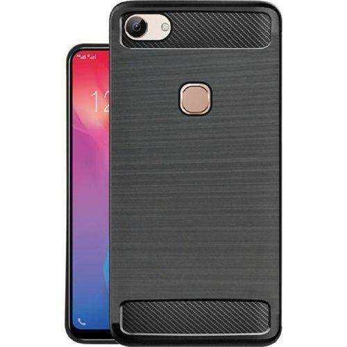 Vivo Y83 Hybrid Soft Black Cover Case 1