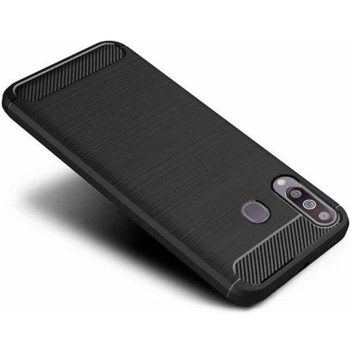 Vivo Y17 Back Cover Case Black Colour Hybrid 1