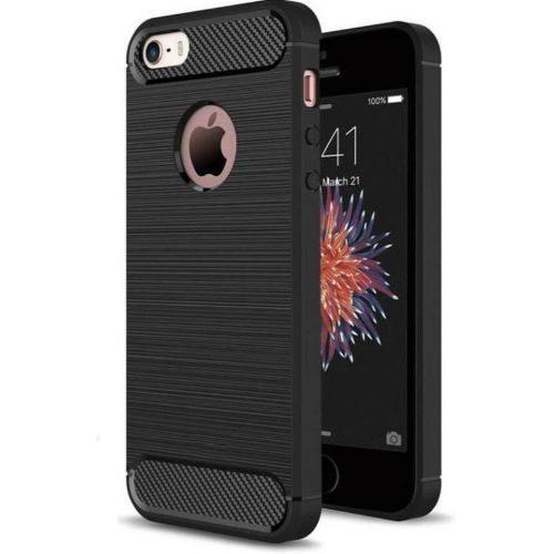 Apple iPhone 5 Hybrid Soft Black Cover 1