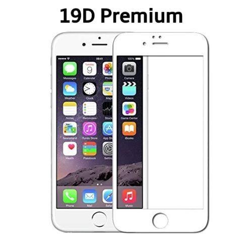Apple iPhone 6s Plus Tempered Glass Full Glue 19D Premium White Color 1