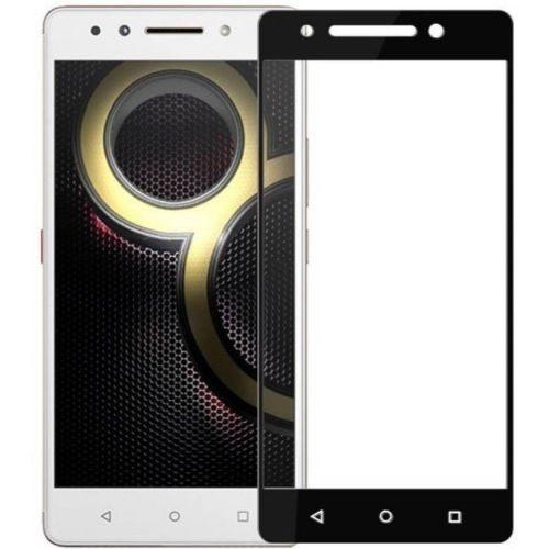 Lenovo K8 Note Tempered Glass Full Glue 6D Black Color 1