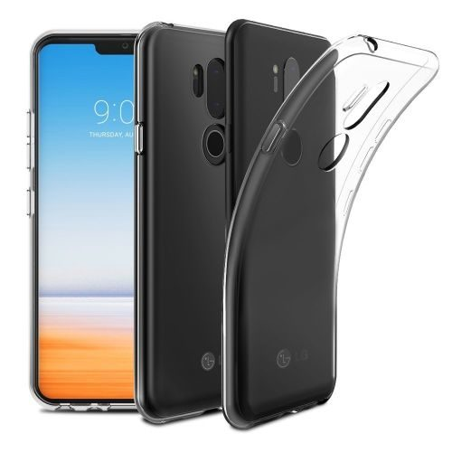 LG G7 ThinQ Transparent Soft Back Cover Case 1