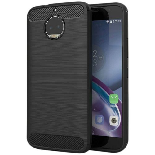Motorola Moto G5S Hybrid Soft Black Cover 1