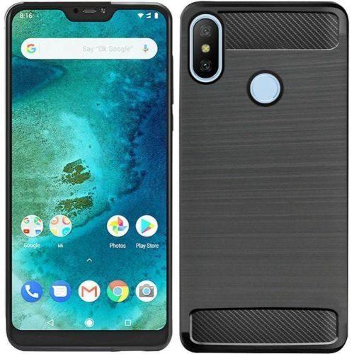 Motorola Moto One Power Hybrid Soft Black Case 1