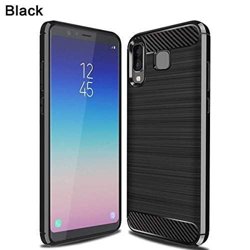 Samsung Galaxy A8 Star Hybrid Soft Black Cover 1