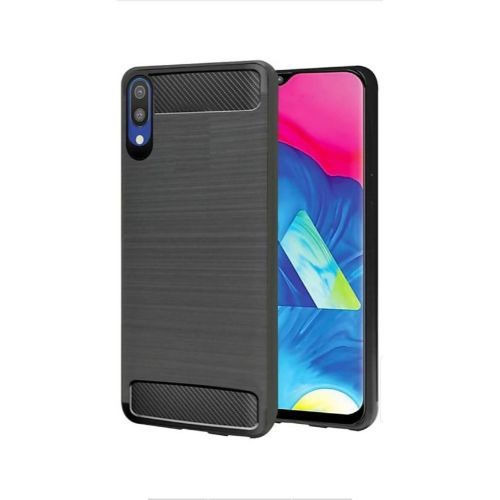Samsung Galaxy M10 Back Cover Case Black Color Hybrid 1