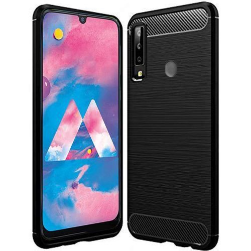 Samsung Galaxy M30 Back Cover Black Color Hybrid 1
