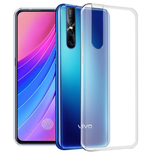 VIVO V15 Pro Transparent Soft Back Cover Case 1