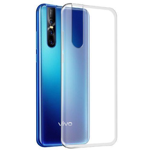 VIVO V15 PRO Transparent Back Cover Case 1